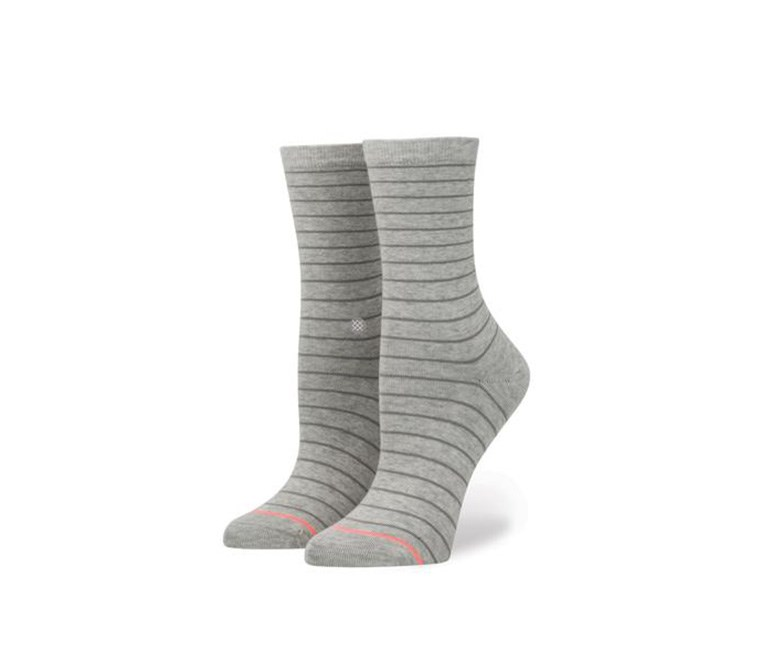 Girls Dip Toe Socks, Light Grey