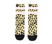Stance Girls Feline Socks, Animal Print