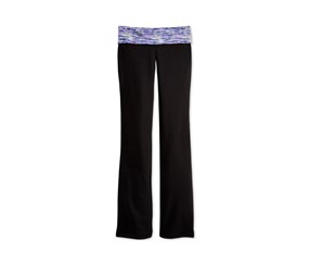 Ideology Girls Contrast-Waist Leggings, Black Combo