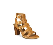 White Mountain Gemmy Block-Heel Dress Sandals, Natural