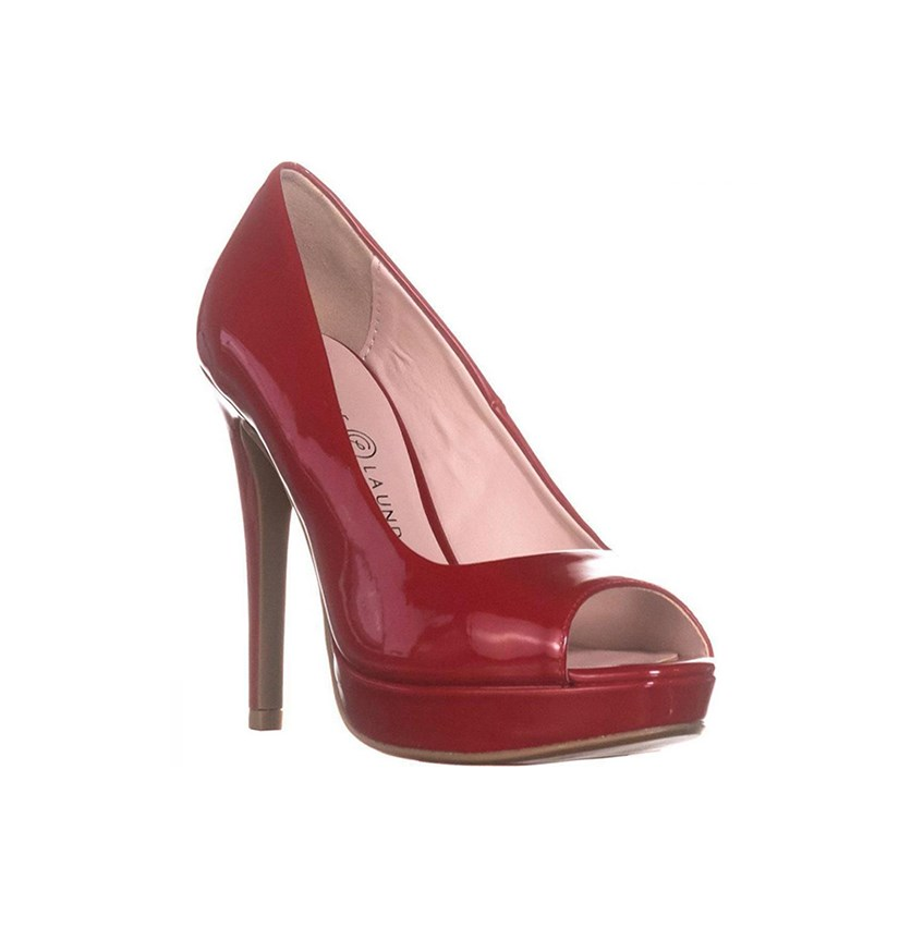Haley Pumps, Red Patent