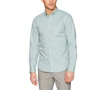 Theory Men's Edward Linen Button Down Shirt, Basil