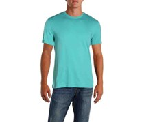 IKE By Ike Behar Mens Cotton Crew Neck T-Shirt, Sage Tone