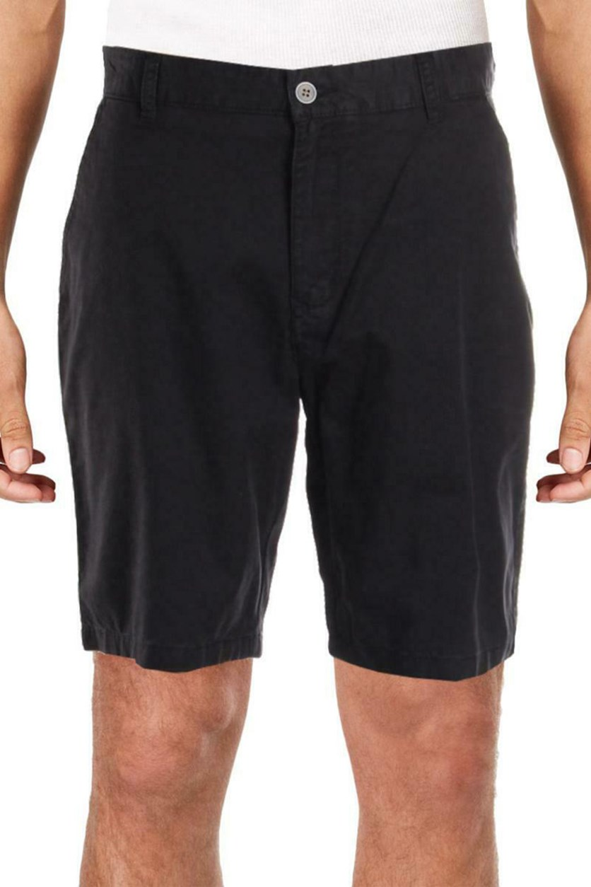 Men's Lightweight Twill Short, Black/Almost Black