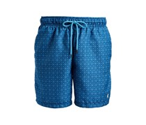 Ike Behar Medallion Swim Shorts, Navy Wind