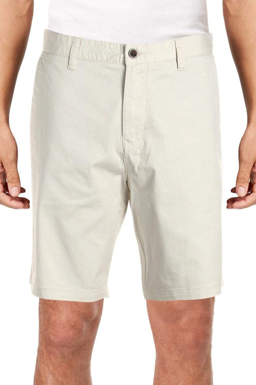IKE by Ike Behar Men's Flat Front Short, Stone
