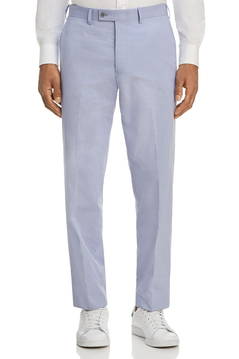 at Bloomingdale's Pincord Dress Pants, Blue/White