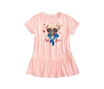 Big Girls  Pug Peplum Top, Blush