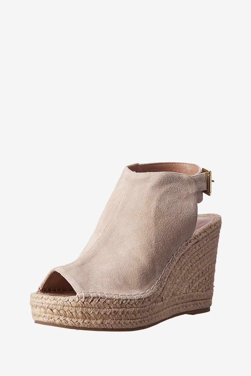 New York Olivia Espadrille Wedge Sandal, Cream