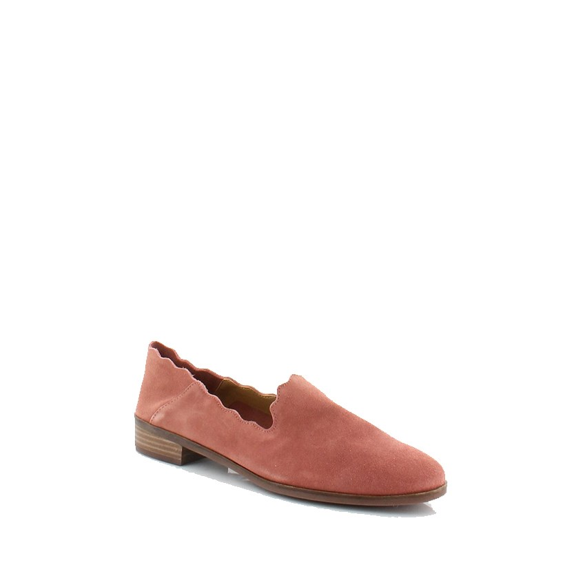 Womens Chaslie Flats, Canyon Rose