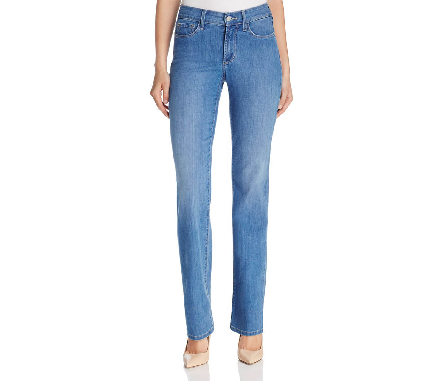 NYDJ Marilyn Arabian Sea Wash Jeans, blue