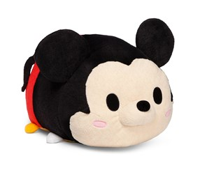 Disney 12 inches Tsum Tsum Mickey Plush Toys,  Black/Orange
