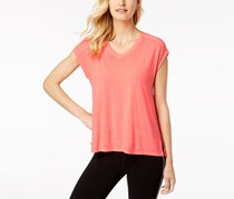 Calvin Klein Gathered-Back Top, Neon Pink