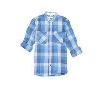 Cropp Men's Checkered Casual Shirt, Blue