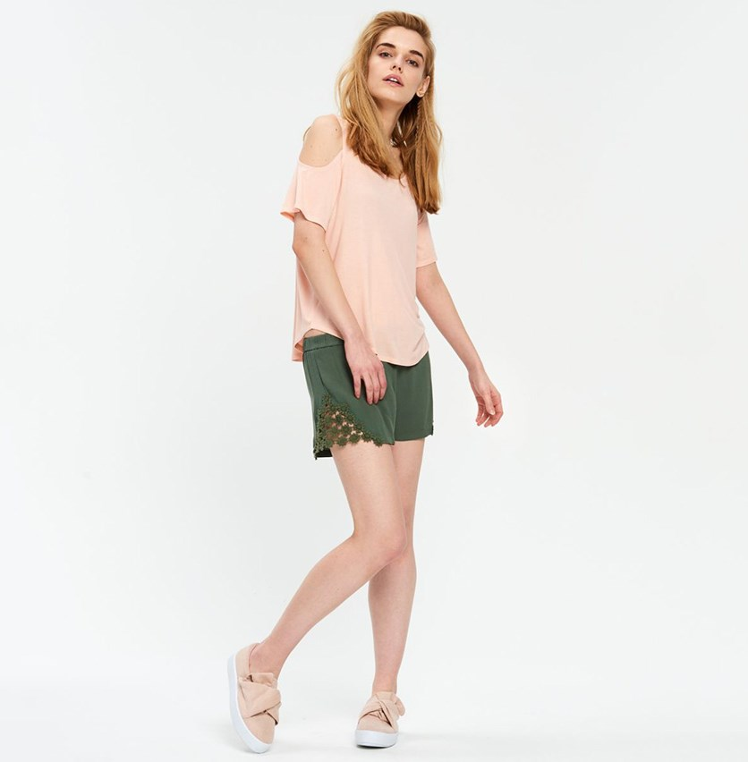 Women's Shorts, Green