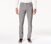 Kenneth Cole Reaction Mens Chelsea Stretch Pants, Dim Grey