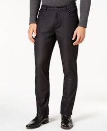 Ryan Seacrest Distinction Men's Dress Pants, Black