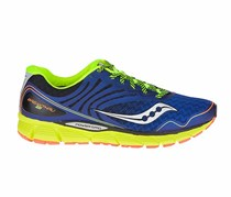 Saucony Men's Sport Shoes, Navy/Lime Green