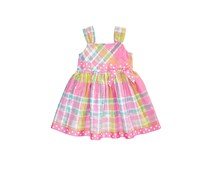 Bonnie Baby Plaid Sundress, Pink