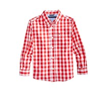 Tommy Hilfiger Ryan Gingham Shirt, Poppy Red