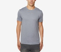 32 Degrees Mens Techno Mesh T-Shirt, Light Heather Grey