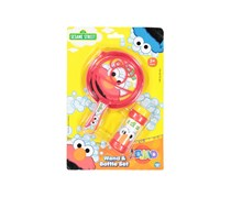 Sesame Street Wand & Bottle Bubbles Set, Red