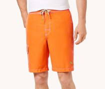 Tommy Bahama Men's Baja Beach Swim Trunks, Orange