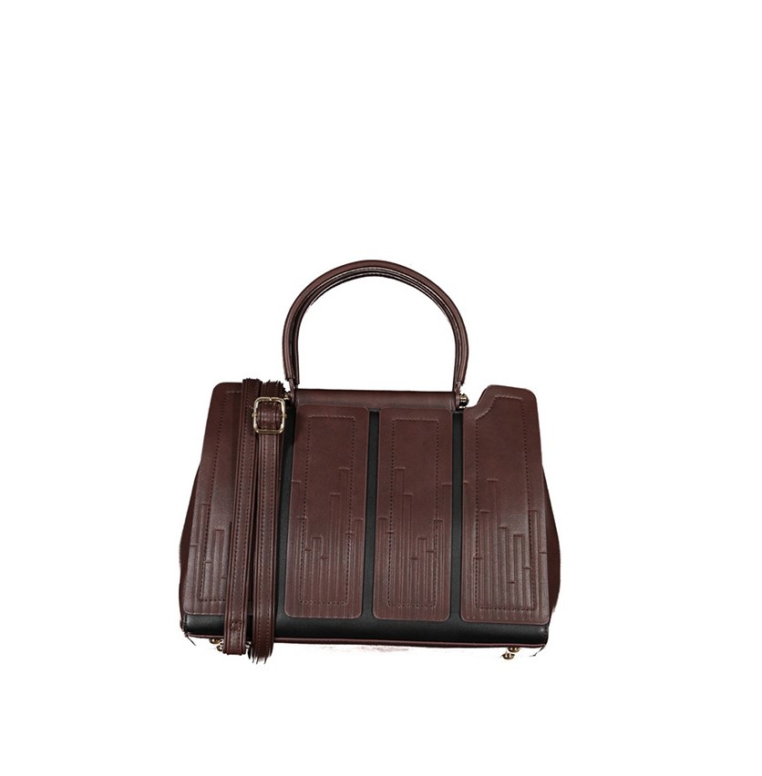 Walter Valentino Women's Satchels, Dark Brown