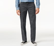 Men's Rigid Slim Straight Fit Pant, Charcoal
