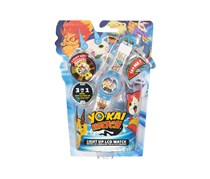 Yokai Watch Light Up LCD Watch, Blue Combo