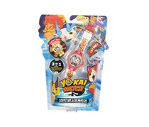 Yokai Watch Light Up LCD Watch, Red Combo