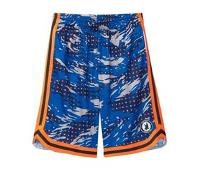 Flow Society Camo Hoops Short,Blue
