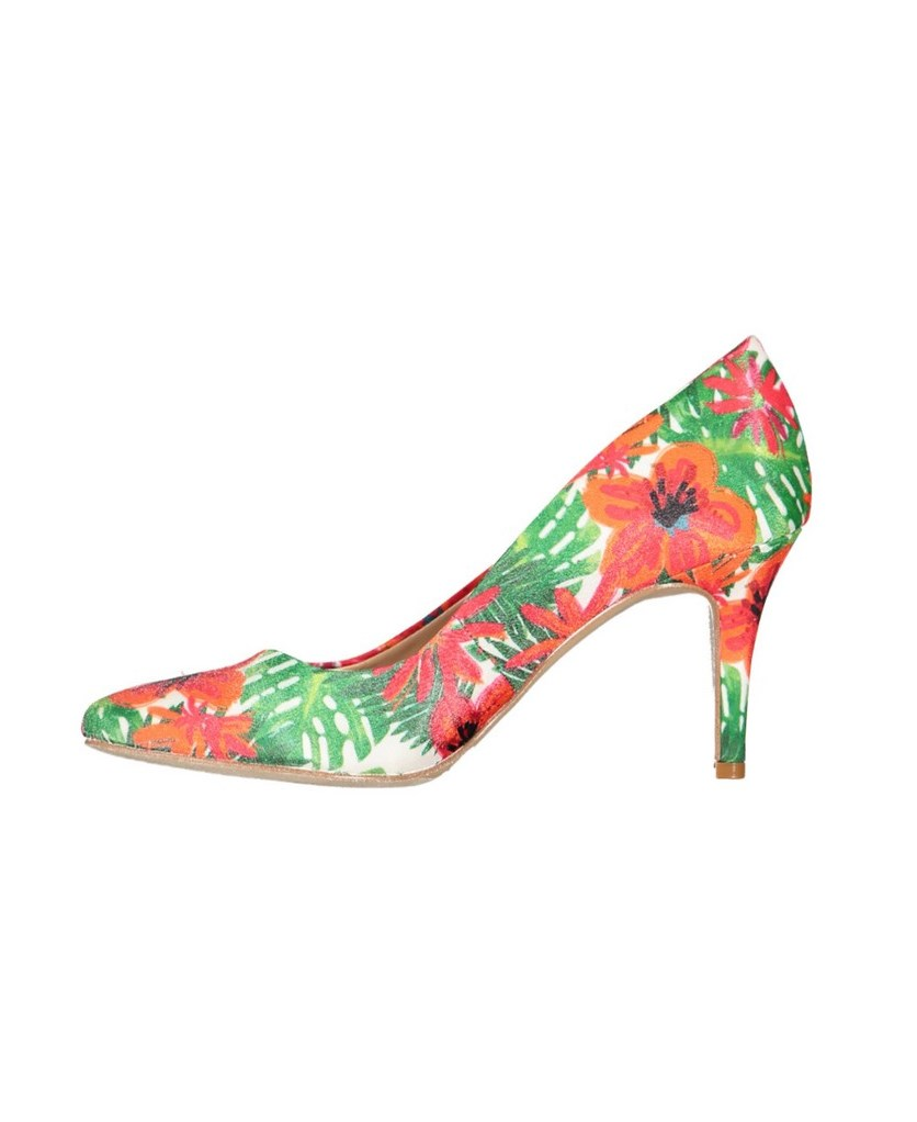 International Concepts Zitah Pumps, Floral Combo