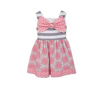 Rare editions Toddlers Dress, Coral