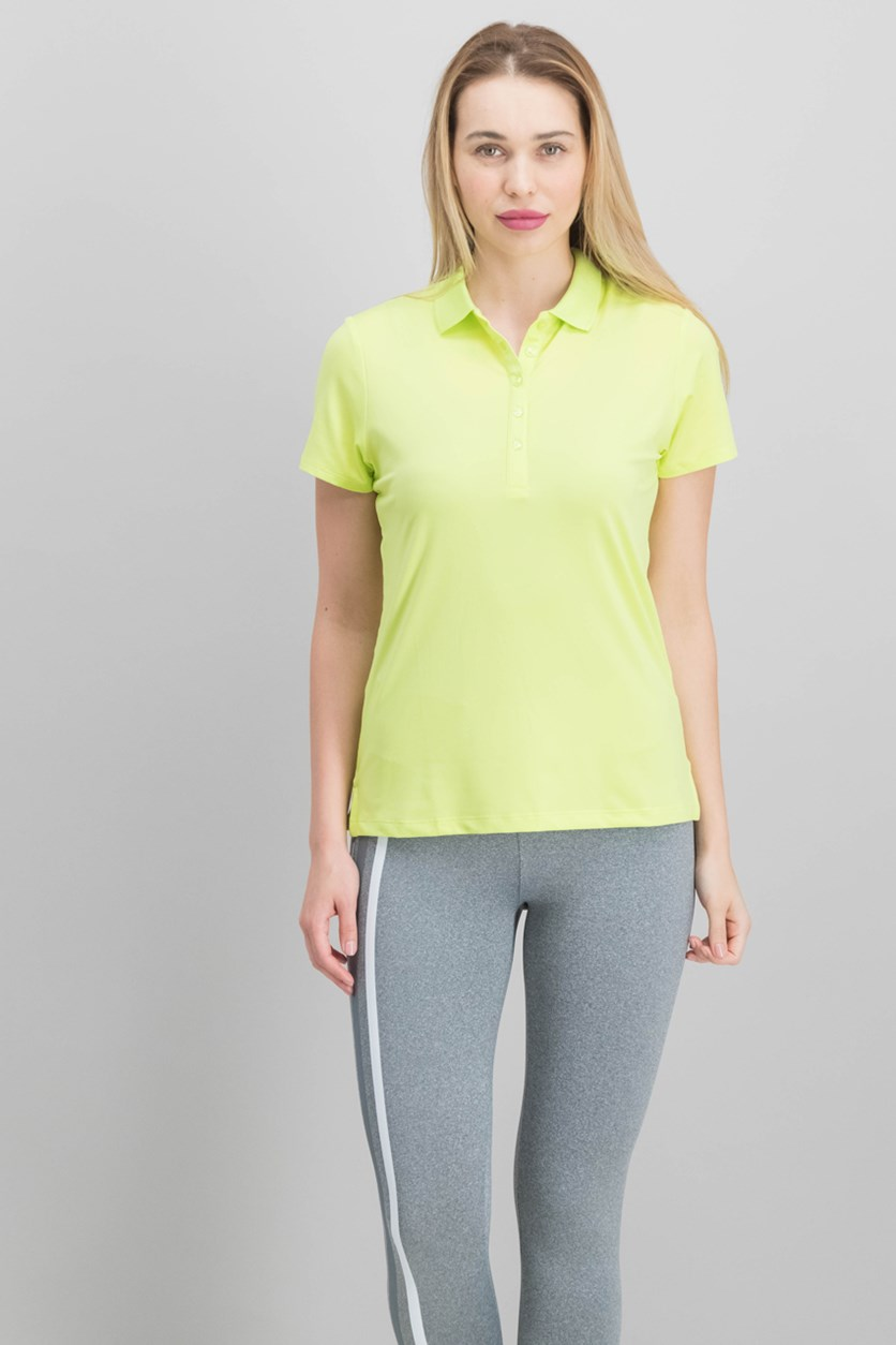 Women's Polo Shirt, Sharp Green