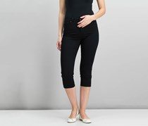 Charter Club Petite Bristol Saturated Jeans, Black Saturated