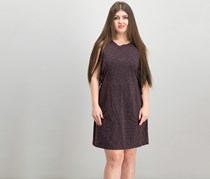 Cupcakes and Cashmere Women's Side Lace Dress, Brown