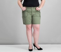 Style & Co Women's Cargo Shorts, Willow Sage