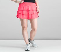 Ideology Women's Tiered Pull On Skirts, Tropical Melon