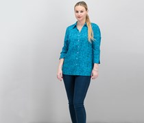 Jm Collection Textured Blouse, Tie Die
