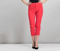 Charter Club Cropped Straight-Leg Pants, Warm Spice