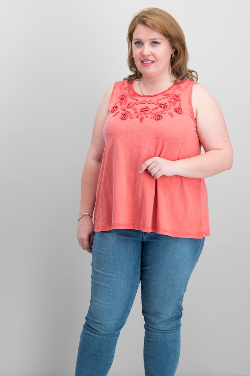 Plus Size Embellished Swing, Pimpernel Sout