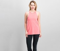 Nike Dry Layered Tank Top, Sea Coral/Pure Platinum