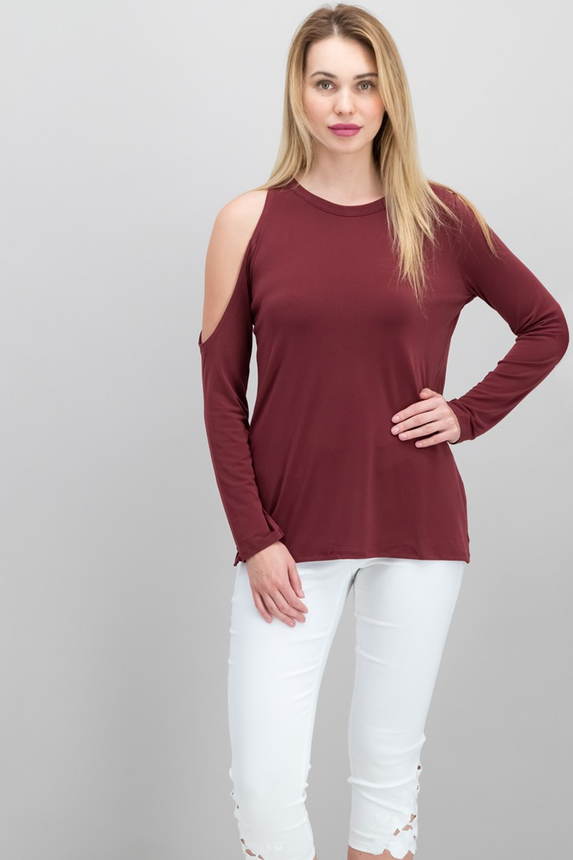 Cold-Shoulder Top, Port