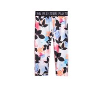 Ideology Tropical Floral-Print Cropped Leggings, Tropical Floral