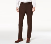 Alfani Mens Slim-Fit Stretch Pants, Valhrona