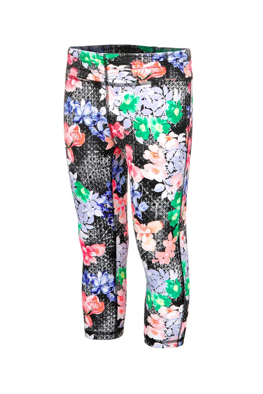 Printed Capri Leggings, Floral