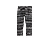 Epic Threads Kid's Girls Geo-Print Leggings, Deep Black