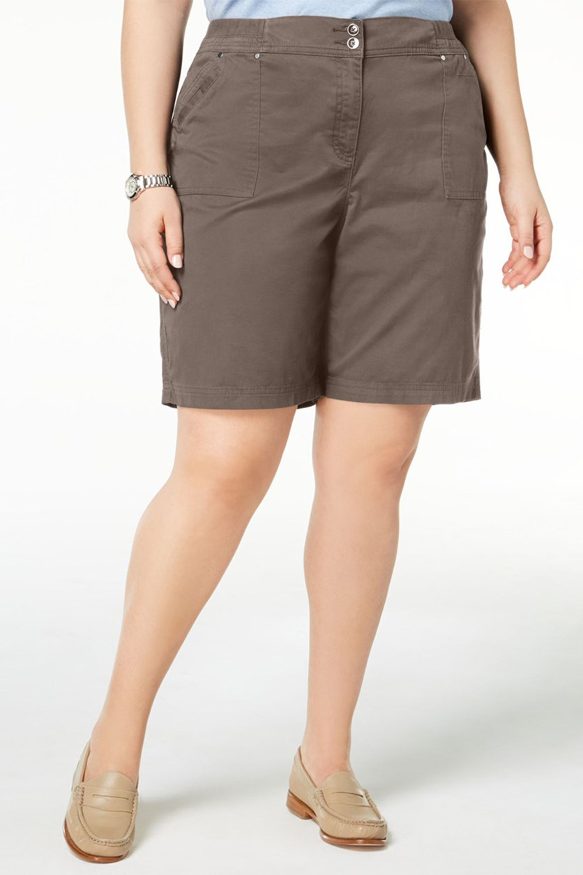 Plus Size Shorts, Brass Iron