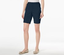 Charter Club Twill Shorts, Intrepid Blue